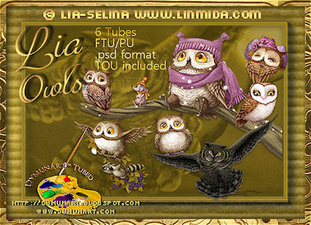 Owls by Selina Selina - download and preview