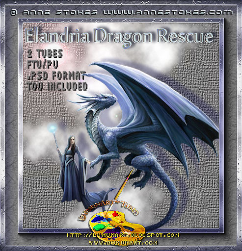 Elandria Dragon Rescue by Anne Stokes download and preview