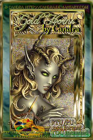 Gold Horns by Candra preview