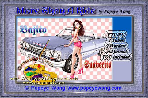 More Than A Ride © Popeye Wong Preview