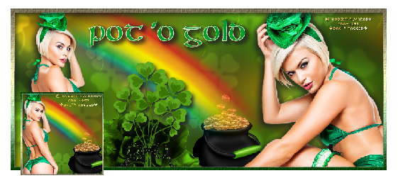 Pot 'O Gold Facebook Timeline set art © Robert Alvarado download and preview
